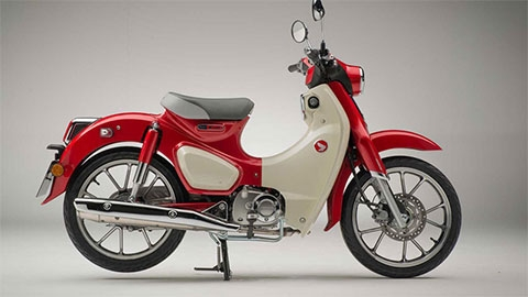 Honda Super Cub C125 2020 có thêm phanh ABS, giá gần bằng SH 150 gây sốt mạnh