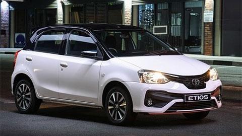 Toyota Etios Liva giá chỉ 175 triệu 'quyết đấu' Hyundai Grand i10, Suzuki Celerio