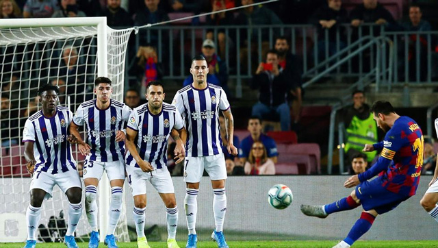 Barca 5-1 Valladolid: Show diễn của Messi