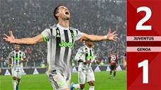 Juventus 2-1 Genoa(Vòng 10 Serie A 2019/20)