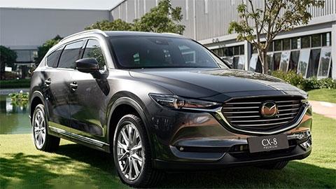 Mazda CX-8 bất ngờ giảm giá 'đe nẹt' Hyundai Santa Fe 2019, Ford Everest