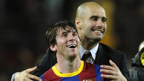 Guardiola: Có những HLV giỏi không danh hiệu vì không Messi