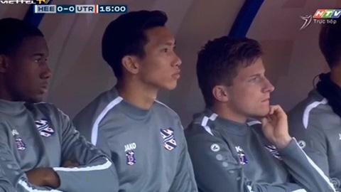 Văn Hậu ngồi ngoài trong ngày Heerenveen đại thắng ở Cúp QG