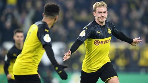 Vòng 2 Cúp Quốc gia Đức: Dortmund nhọc nhằn giành vé đi tiế