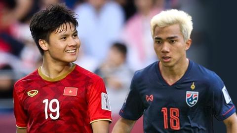 Quang Hải đấu Chanathip ở hạng mục cầu thủ xuất sắc nhất Đông Nam Á