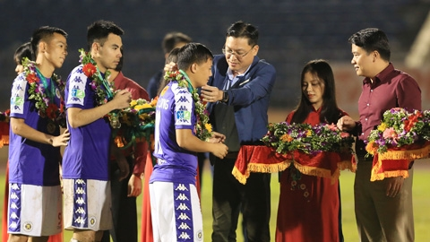 Mùa giải hoàn hảo của Hà Nội FC