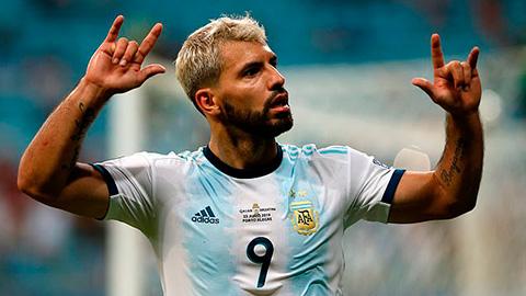 Aguero trở lại ĐT Argentina lần đầu kể từ Copa America 2019