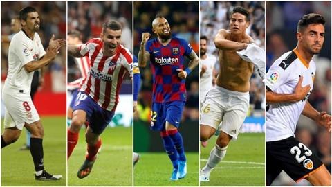 Những kẻ dưới đáy đang lên đỉnh La Liga