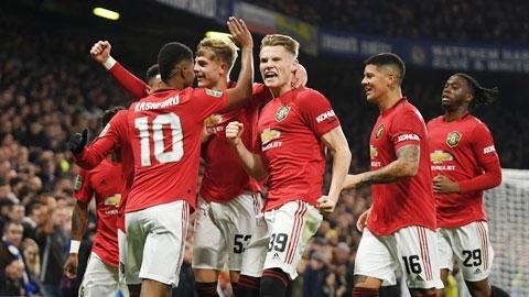 Qua cơn bĩ cực, Man United tiến thẳng tới Top 4