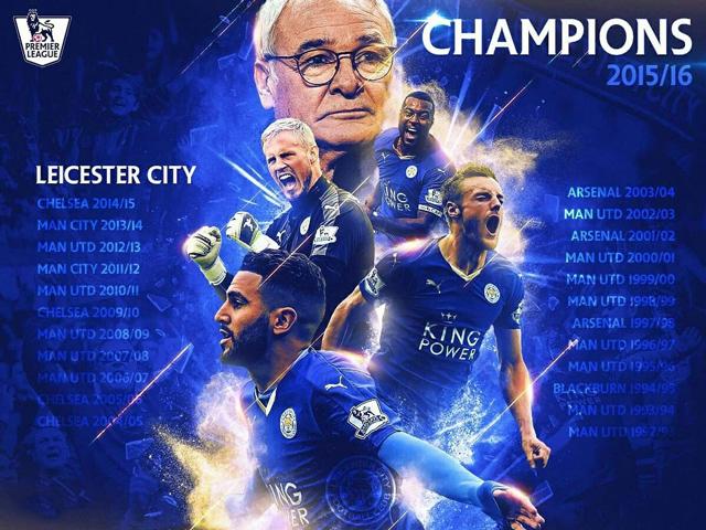 Leicester chính là đội gần nhất phá vỡ thế thống trị của Big Six