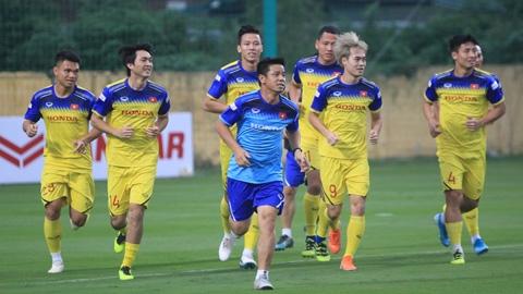 Thầy Park điều chỉnh giáo án cho 2 trận gặp UAE và Thái Lan