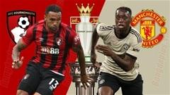 Bournemouth vs Man United, 19h30 ngày 2/11: Ngược gió, Quỷ bay cao