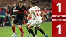 Sevilla 1-1 Atletico Madrid(Vòng 12 La Liga 2019/20)
