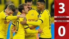 Dortmund 3-0 Wolfsburg(Vòng 12 La Liga 2019/20)