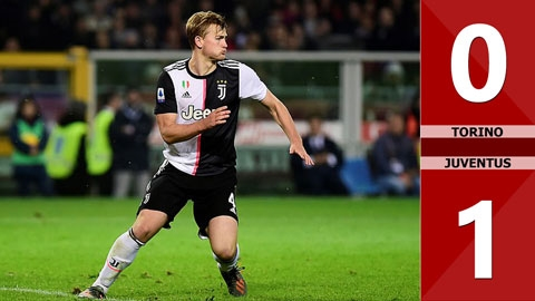 Torino 0-1 Juventus(Vòng 11 Serie A 2019/20)