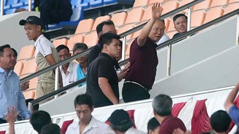 HLV Park Hang Seo rời sân sớm, U21 tuyển chọn Việt Nam thua trận