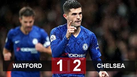 Pulisic lại tỏa sáng, Chelsea chiếm vị trí thứ 3 của Leicester