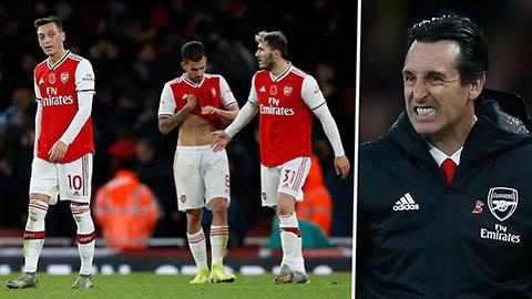 Arsenal rơi điểm trận thứ 2 liên tiếp, Emery vẫn nói đội đá đúng chiến thuật
