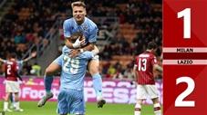 Milan 1-2 Lazio(Vòng 11 Serie A 2019/20)