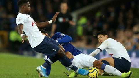 Sao Everton gẫy chân sau pha truy cản của Heung-Min Son