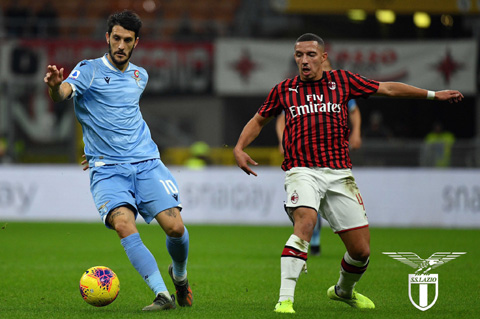 Luis Alberto mở ra bàn thắng ấn định tỷ số cho Lazio