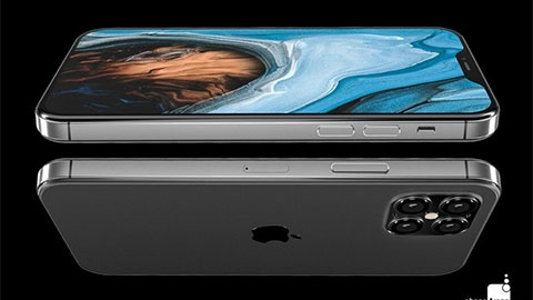 iPhone 12 bất ngờ lộ diện với thiết kế tuyệt đỉnh, kết hợp iPhone X và iPhone 4