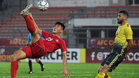 Đội loại Hà Nội FC bại trận ở chung kết AFC Cup