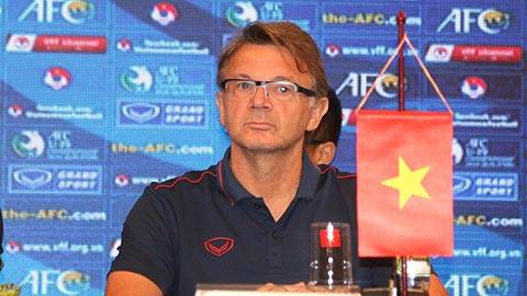 HLV Phillippe Troussier đặt mục tiêu giành vé đi U19 châu Á