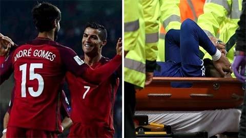Ronaldo tin Andre Gomes sẽ trở lại mạnh mẽ sau chấn thương kinh hoàng