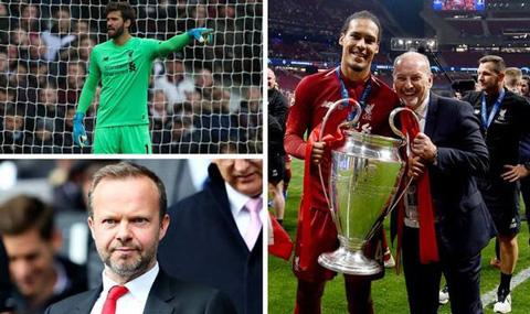 Liverpool của Moore đang thành công hơn hẳn so với Man United của Woodward