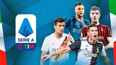 Serie A đệ đơn xin thay 5 cầu thủ trong 1 trận