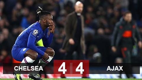Chelsea 4-4 Ajax: Màn rượt đuổi điên rồ