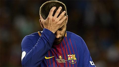 Pique: 'Barca không đủ sức vô địch Champions League'