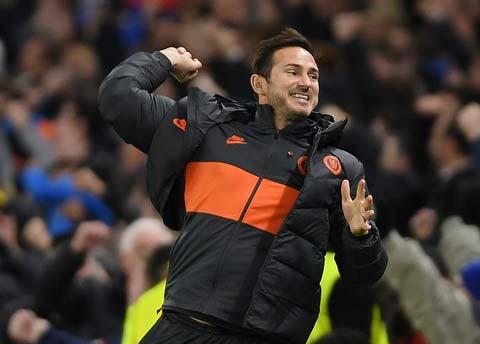 Lampard tiếp tục tạo dấu ấn trong cách xây dựng Chelsea