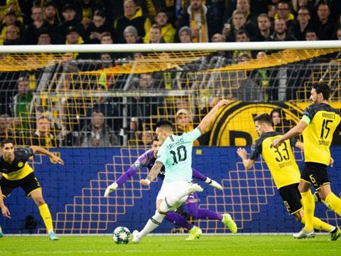 Dortmund 3-2 Inter: Ngược dòng ngoạn mục