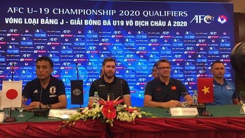 Bảng J góp mặt 4 đội bóng là Việt Nam, Nhật Bản, Guam và Mông Cổ