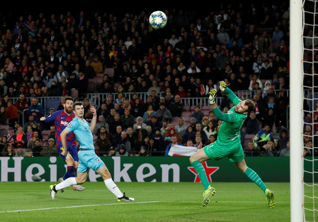 Barca 0-0 Slavia Prague: Siêu nhân Messi bất lực trước thủ thành vô danh