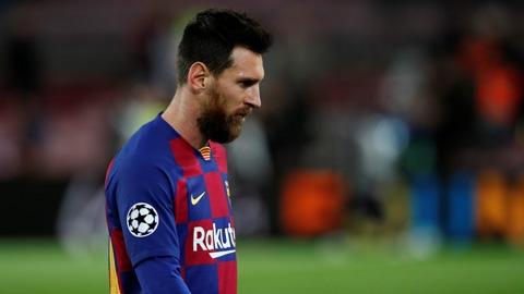 """Messi nên quên Champions League vì """"quả tạ"""" Barca quá nặng"""