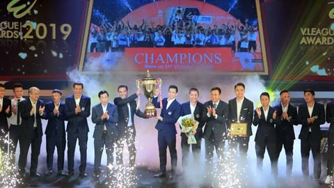 Trao giải V.League Awards 2019