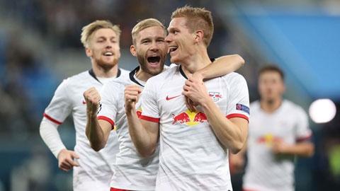 RB Leipzig đặt một chân vào vòng knock out: Cột mốc lịch sử