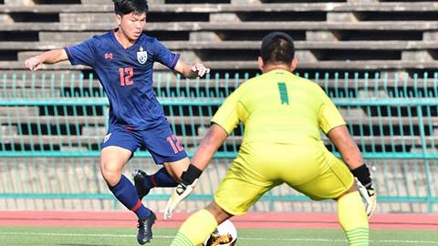 U19 Thái Lan thắng tỷ số kinh hoàng 21-0 ở vòng loại U19 châu Á