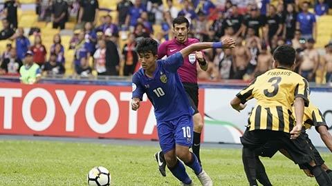 Thần đồng Thái Lan è cổ 'chạy sô' cho U19 vàĐTQG