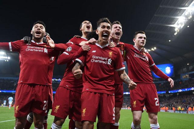 Liverpool có được kết quả ấn tượng trước những đội bóng trong nhóm Big Six