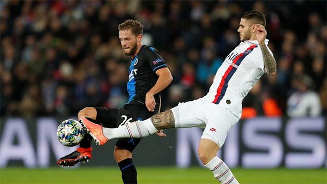 PSG 1-0 Club Brugge: PSG chắc suất đi tiếp