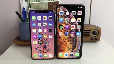 iPhone XR, XS và iPhone XS Max bất ngờ giảm giá sốc đầu tháng 11