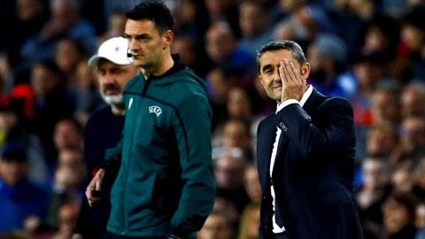 Barca có thể sa thải Valverde vào tháng 12