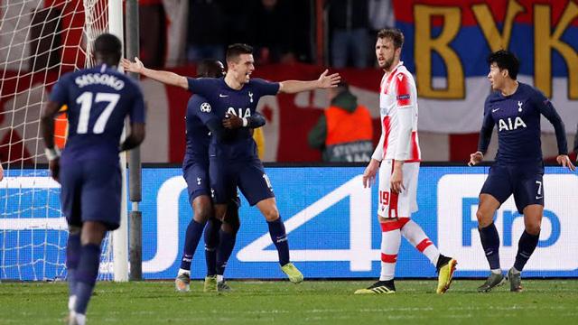 Lo Celso mở tỷ số cho Tottenham ở phút 34