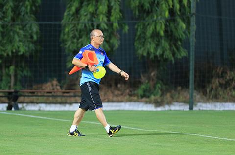 HLV Park Hang Seo là một người rất chuyên nghiệp trong công việc