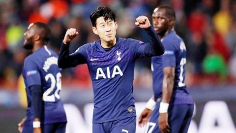 Tottenham & Son heung-min cùng dứt nỗi ám ảnh