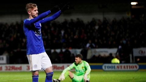 Những bàn thắng ở Leicester đưa Maddison trở lại ĐT Anh